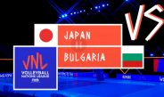 Live Japan vs Bulgalia -Week 5   Men's VNL 2021