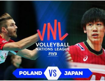 Live Japan vs Salovenia -Week 5   Men's VNL 2021