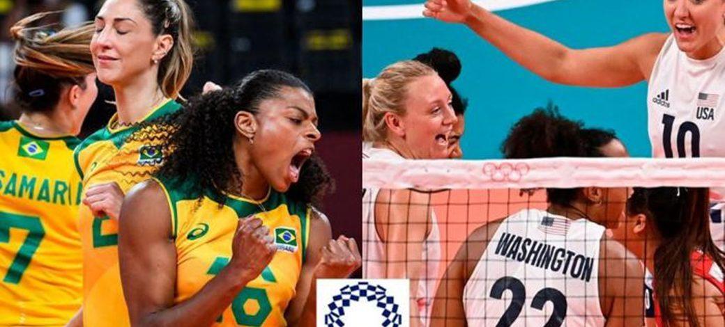 Live Brazil vs USA -Gold Medal | Women's Tokyo2020