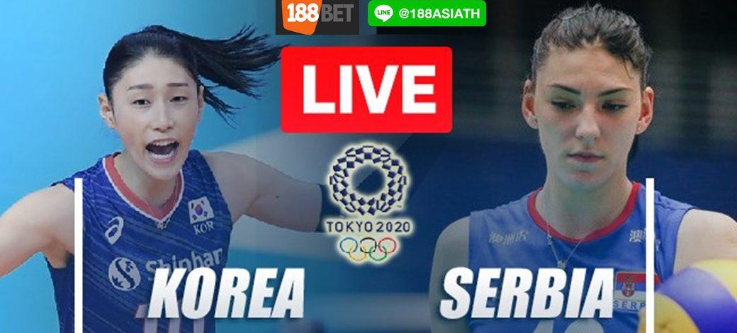 Live Korea vs Serbia -Bronze Medal | Women's Tokyo2020